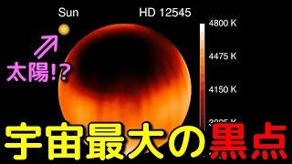 太陽自体より巨大な「黒点」に覆われた星がヤバすぎる!