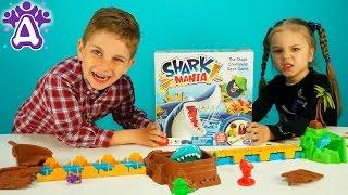 Игрушки для детей Игра Акула Shark mania game Видео для детей Розыгрыши от Друзяк Games for children(Сегодня Друзья играют в очень интересную и увлекательную игру Акула мания Shark mania game. А суть игры заключаетс..., 2016-05-24T12:34:26.000Z)