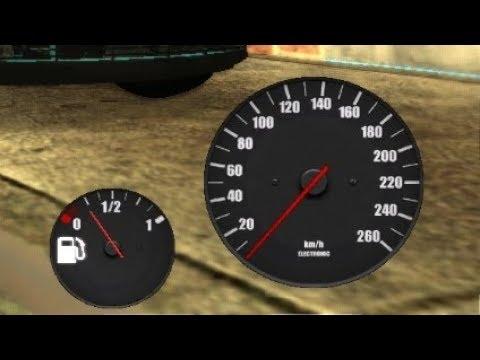 Gta San Andreas Modları #6 /Benzin Ve Hız Göstergesi Modu