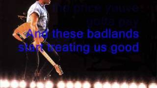 Badlands Bruce Springsteen [Full + Lyrics]