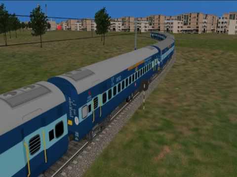 Secunderabad Visakhapatnam Janmabhoomi Express ,in Open Rails  by Ravi Kumar