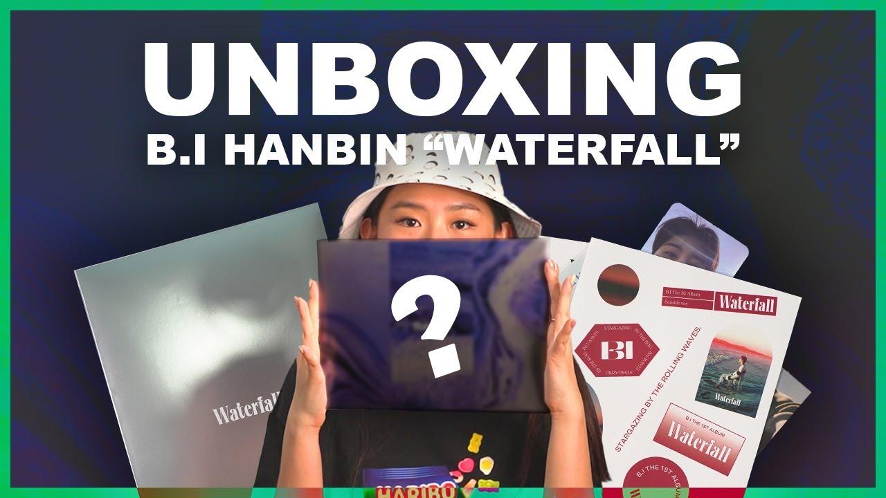 UNBOXING B.I HANBIN 1ST FULL ALBUM (WATERFALL)!!