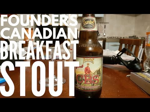Founders CBS Canadian Breakfast Stout By Founders Brewing Company | American Craft Beer Review