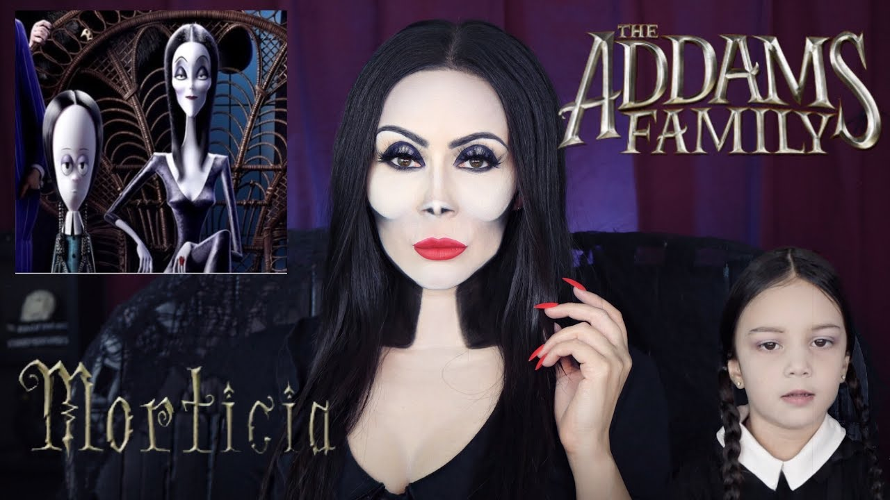 who played morticia in the addams family