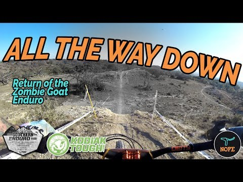 All the Way Down - Mountain Biking the Return of the Zombie Goat Enduro in Comfort Texas
