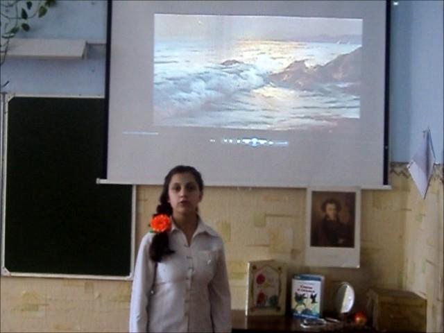 Изображение предпросмотра прочтения – КаринаВеселова читает произведение «Храни меня, мой талисман» А.С.Пушкина