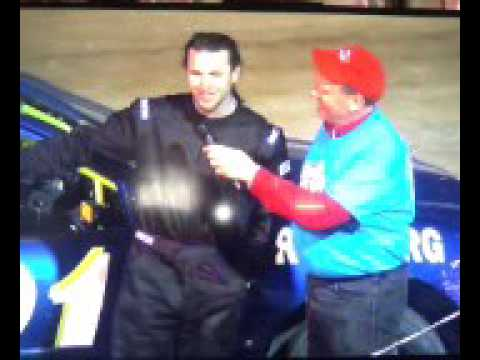 Interview after my first win at Georgetown Speedway