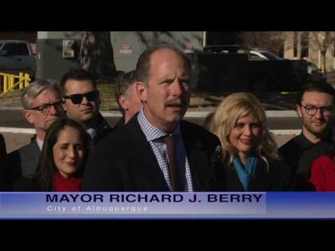 Mayor Richard J. Berry, City of Albuquerque  News Conference  1-4-17