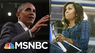 President And Michelle Obama Rally Hillary Clinton Supporters, Take On Donald Trump | MSNBC