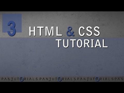 HTML & CSS Tutorial Für Anfänger 3 -- Fett, Kursiv Und Kommentieren