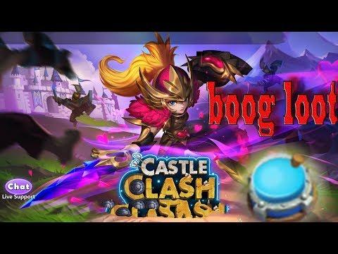 Castle Clash Town Hall 4 Base  Big Loot