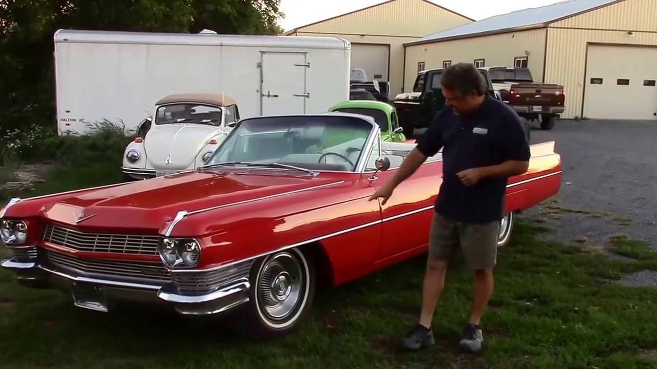 Cadillac Coupe For Sale >> 1964 Cadillac Deville Convertible For Sale