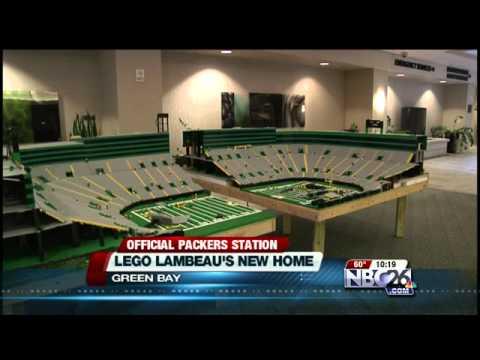 Lego Lambeau Has A New Home in Green Bay - YouTube