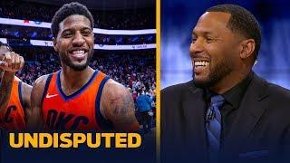 Eddie House believes Paul George could be Defensive Player of the Year — not MVP | NBA | UNDISPUTED