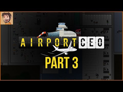 Airport CEO - Part 3 | FOOD AND SHOPS