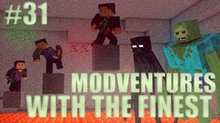 Minecraft: Modventure with the Finest - Ep. 31 - New Dimension!