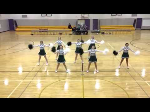 Iowa Christian Academy Cheer Squad