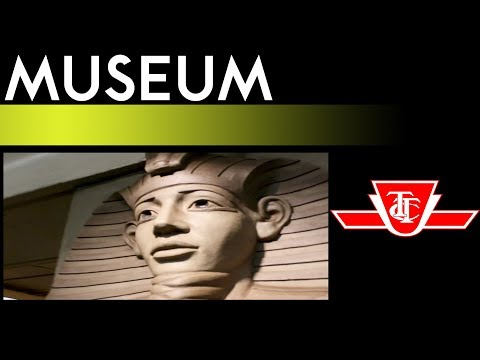 TTC Yonge-University Subway - Museum Station Walkthrough