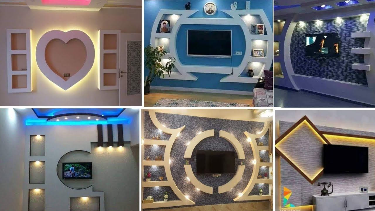 Desain Rak Tv Dinding Minimalis Paling Trend!