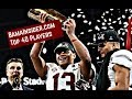 Alabama Top 40 Football Players - Tua Tagovailoa is No. 1