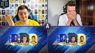 NAJLEPSZE STATKI O IKONY! JUNAJTED PRAWIE PŁAKAŁ! ADRYAN VS JUNAJTED | FIFA 18