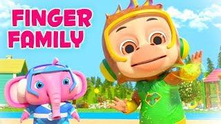 Little Tritans - Finger Family   Nursery Rhymes   Kids Songs   Cartoon Videos by Little Treehouse