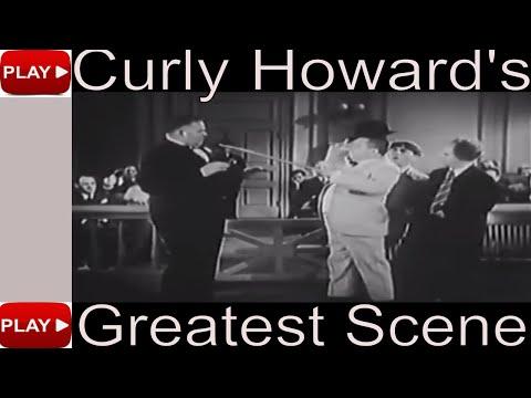 Curly Howard 's Greatest Scene – Slapstick Comedy