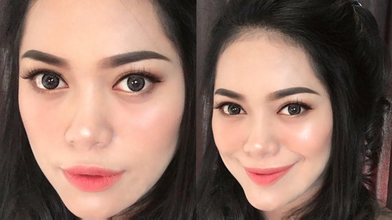 Makeup Tahan Lama Untuk Kulit Berminyak ( Flawless and Glowing ) Indonesia / Nitha Fitria #1