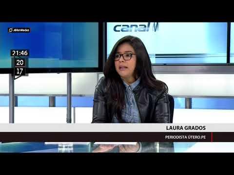 Laura Grados explica las denuncias contra ministro D'Alessio (Canal N)