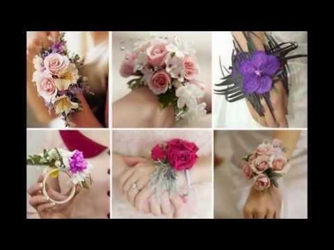 Оригинальные браслеты из цветов своими руками