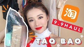 TAOBAO 9.9 HAUL | MONGABONG