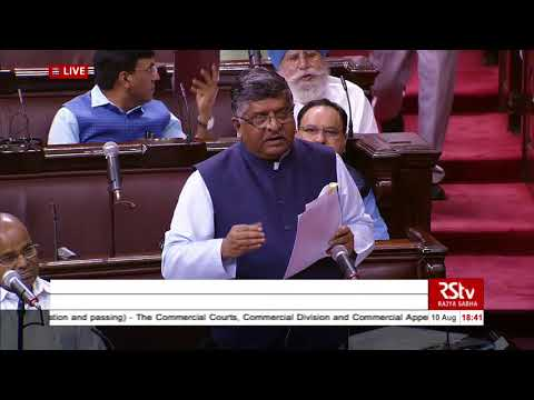 Sh R S Prasad's Reply | Commercial Courts, Division & Appellate Division of HCs (Amnd) Bill, 2018