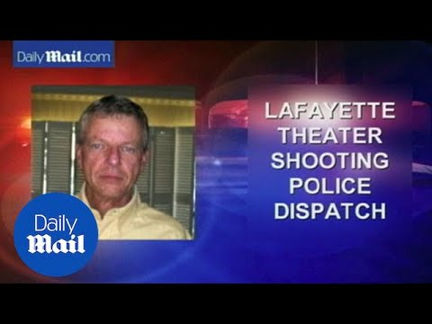 Police radio: Officers respond to Lafayette theater shooting - Daily Mail