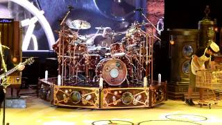 "Rush ""Leave That Thing Alone"" Red Rocks - 2nd ROW! - 8/16/2010 - Time Machine Tour - HD High Quality"