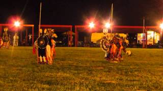 Ogalala Lakota Nation Powwow 2015 Mens Northern Traditional ft  Nathan Chasing Horse Day 1 Song 1