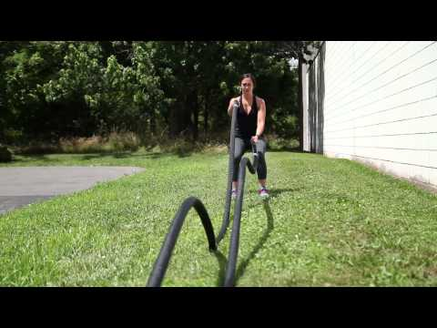 Xtreme Monkey Battle Rope Demo