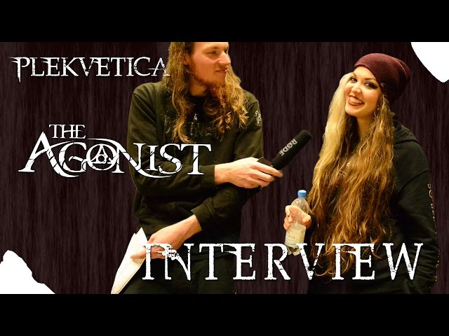 [ Interview ] The Agonist - Vicky Psarakis | 13.03.2015 | Melodic Death Metal