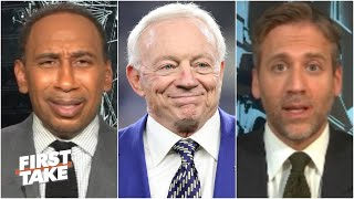 First Take discusses how Jerry Jones looks after speaking out on the national anthem