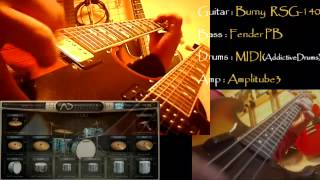 The Song Remains The Same (TSRTS.ver) - Led Zeppelin(cover@VST) -