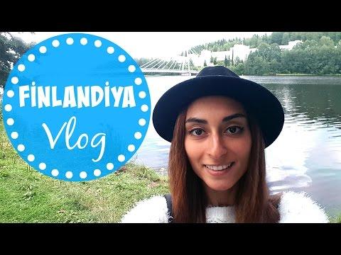 VLOG Finlandiya: Yolculuk, Jyvaskyla, Ev I Kapak Kızı