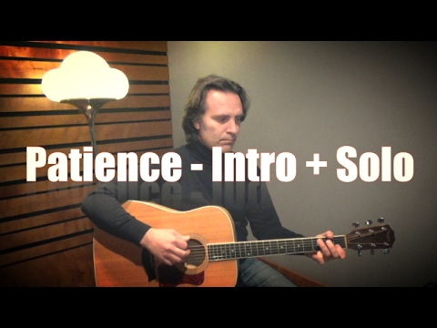 Patience - Slash - Guns 'n' Roses - Tutorial Lezione per Chi