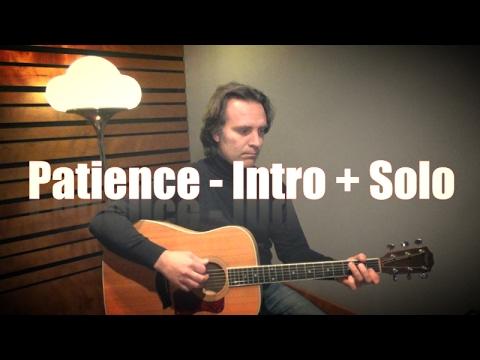 Patience - Slash - Guns 'n' Roses - Tutorial Lezione per Chitarra - Alessandro Giordani