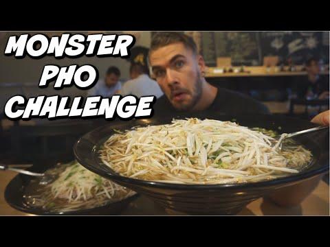 MASSIVE PHO CHALLENGE | ALBERTA'S BIGGEST | Vietnamese Pho Noodle Soup | New Record? | Man Vs Food