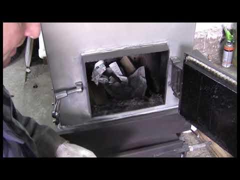 Твердотопливный котел длительного горения , по проекту: Игоря Павловича (тест на дровах)