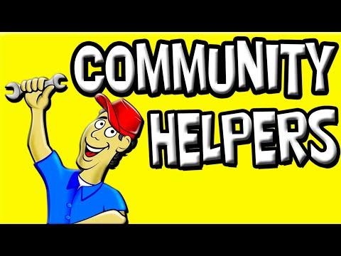 Community Helpers for Kids   Community Jobs   Preschool Community Helpers   Jobs in English