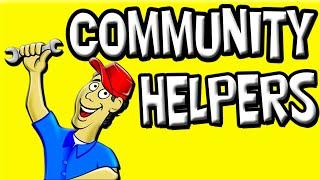 Community Helpers for Kids | Community Jobs | Preschool Community Helpers | Jobs in English