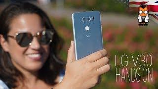 LG V30 Hands On Review - Form & Substance