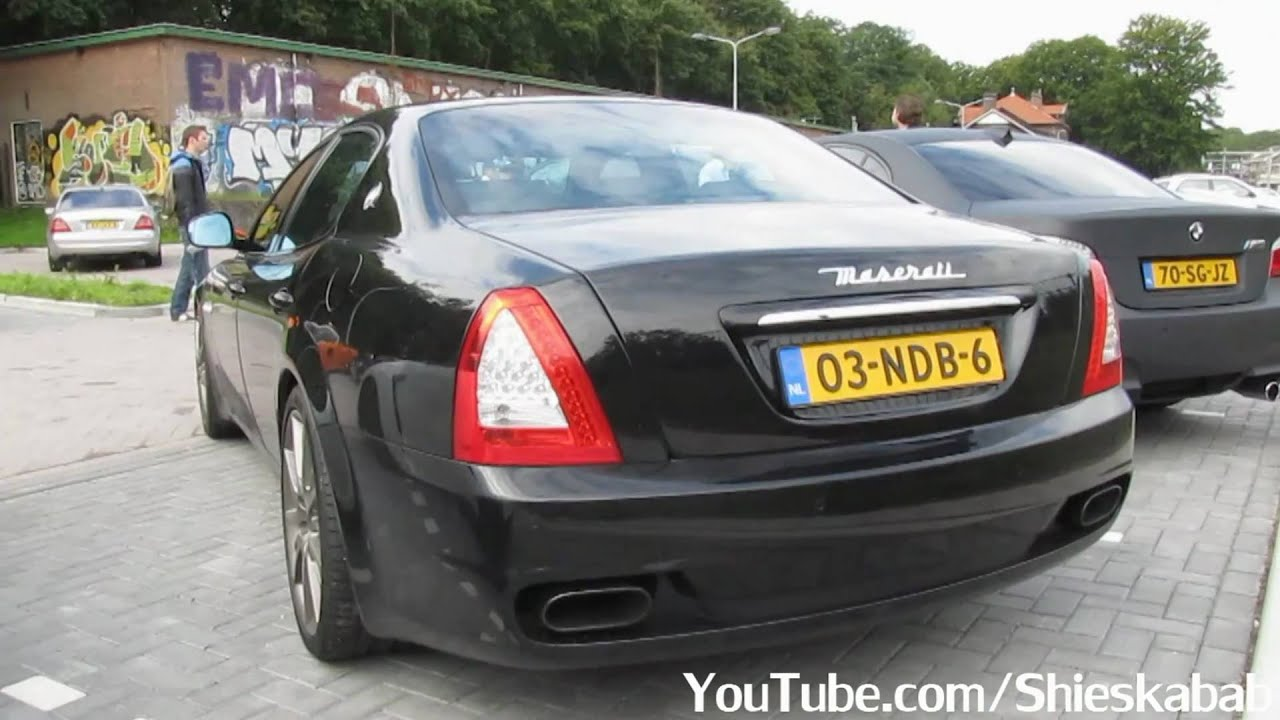 Maserati Quattroporte GTS - great sound! - YouTube