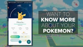 Pokemon Go Appraisal reveals more details about each one (How To)