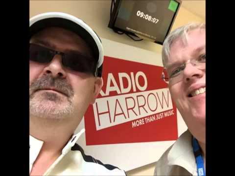 RADIO HARROW LIVE-GAZ REYNOLDS ON RADIO HARROW ON  BREAKFAST WITH GARY WALKER
